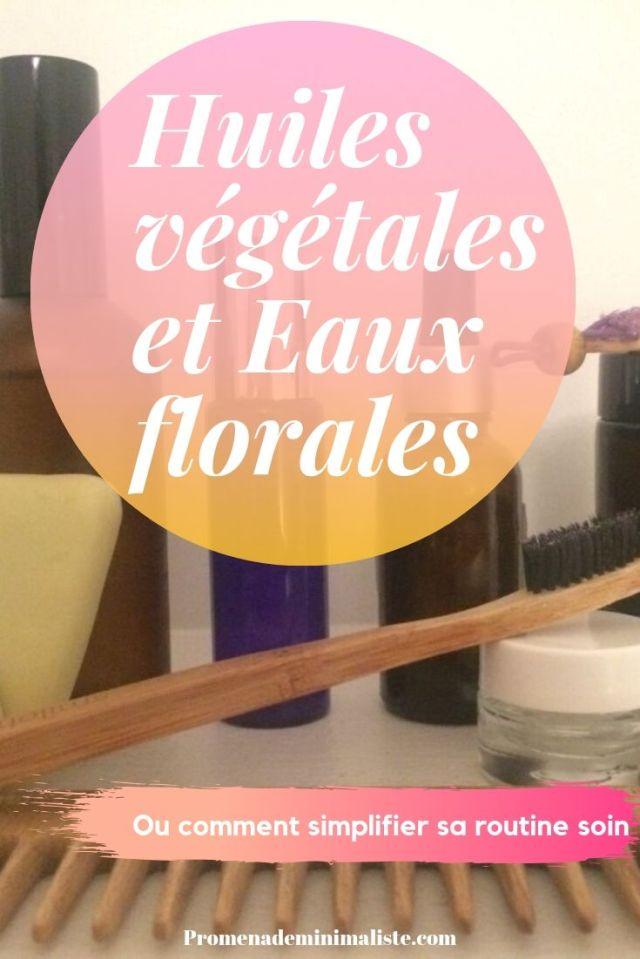 Huiles végétales et Eaux florales(1)