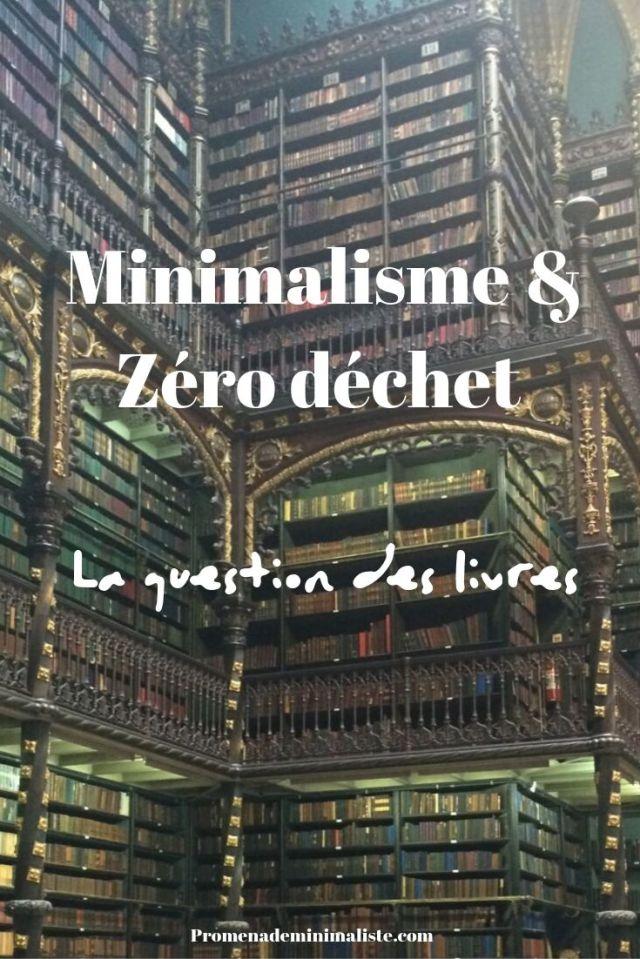 Minimalisme & Zéro déchet _ La question des livres